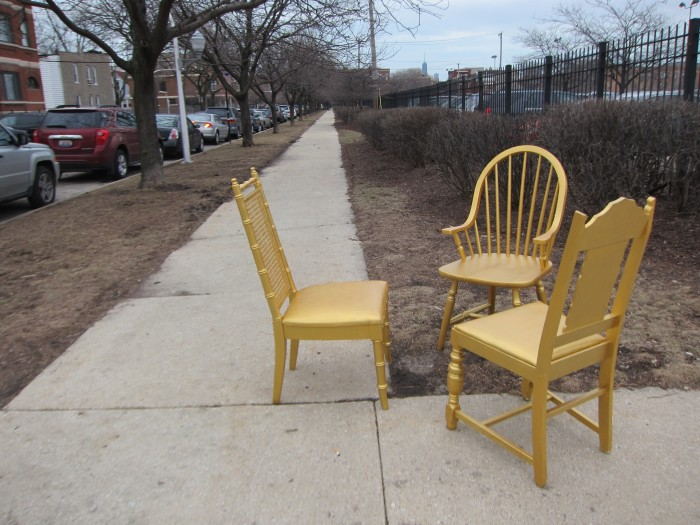 Gold Chairs I